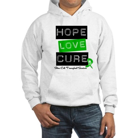 SCTSurvivor HopeLoveCure Hooded Sweatshirt