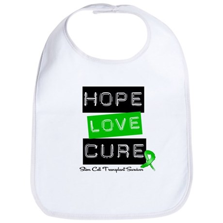 SCTSurvivor HopeLoveCure Bib