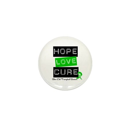 SCTSurvivor HopeLoveCure Mini Button