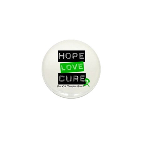 SCTSurvivor HopeLoveCure Mini Button (10 pack)