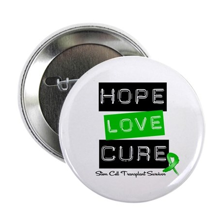 "SCTSurvivor HopeLoveCure 2.25"" Button (100 pack)"