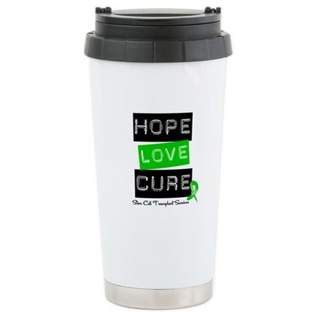 SCTSurvivor HopeLoveCure Ceramic Travel Mug