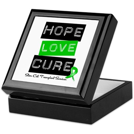 SCTSurvivor HopeLoveCure Keepsake Box