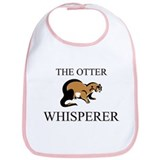 The Otter Whisperer Bib