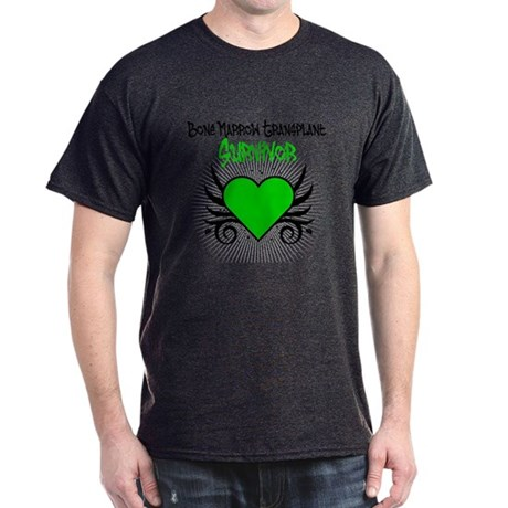 BMT Survivor Grunge Heart Dark T-Shirt