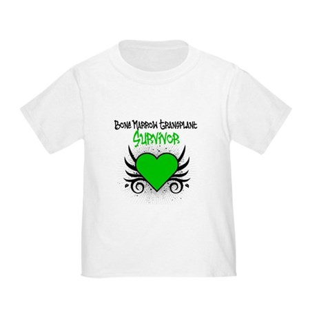 BMT Survivor Grunge Heart Toddler T-Shirt