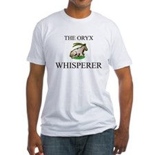 The Oryx Whisperer Fitted T-Shirt