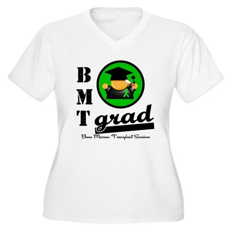 Stem Cell Transplant Grad Women's Plus Size V-Neck