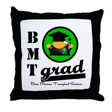 Stem Cell Transplant Grad Throw Pillow