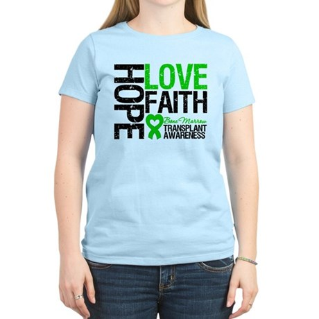 BMT Hope Love Faith Women's Light T-Shirt