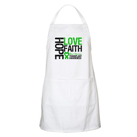 BMT Hope Love Faith BBQ Apron