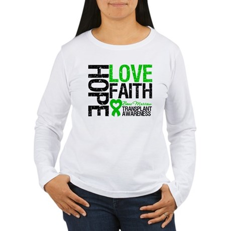 BMT Hope Love Faith Women's Long Sleeve T-Shirt