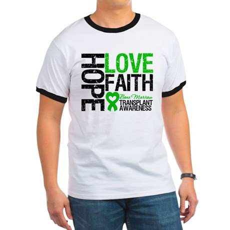 BMT Hope Love Faith Ringer T