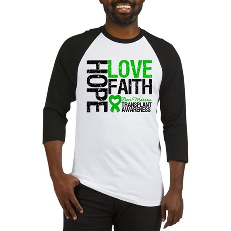 BMT Hope Love Faith Baseball Jersey