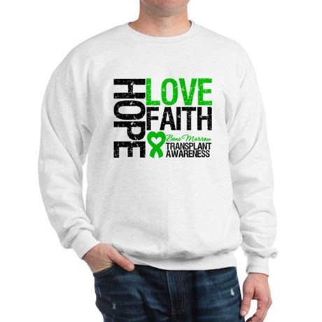 BMT Hope Love Faith Sweatshirt