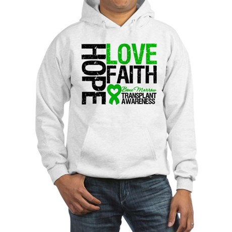 BMT Hope Love Faith Hooded Sweatshirt