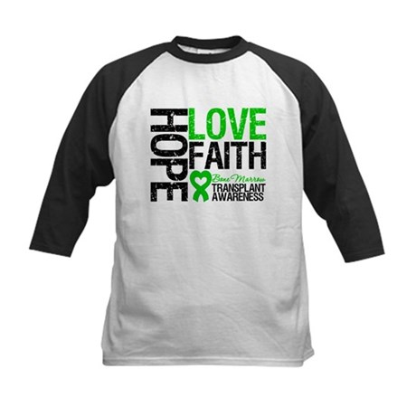 BMT Hope Love Faith Kids Baseball Jersey
