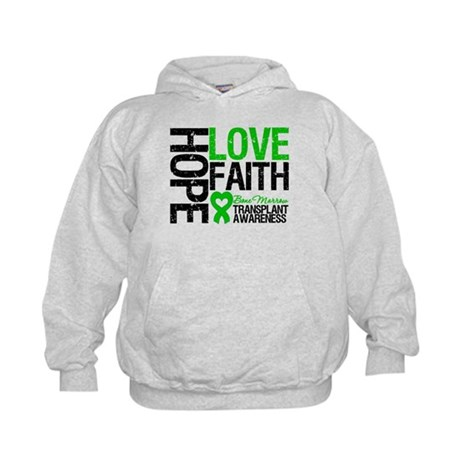 BMT Hope Love Faith Kids Hoodie