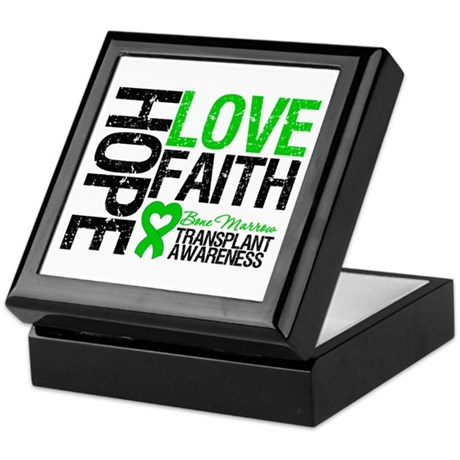 BMT Hope Love Faith Keepsake Box