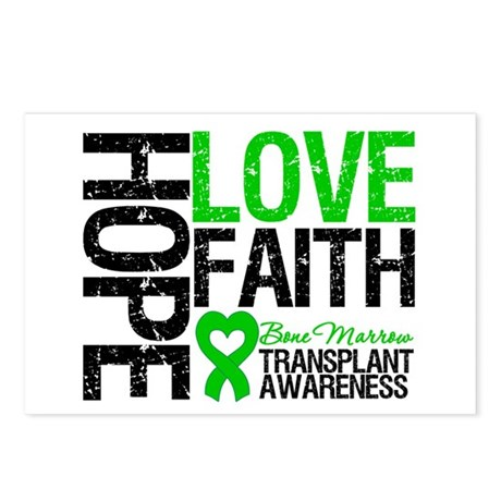 BMT Hope Love Faith Postcards (Package of 8)