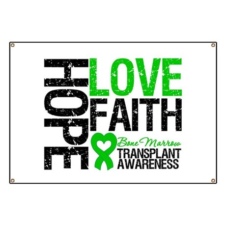 BMT Hope Love Faith Banner