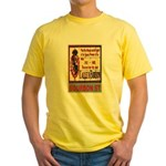 New Orleans Streets Yellow T-Shirt