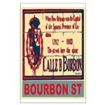 New Orleans Streets Large Poster
