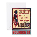 New Orleans Streets Greeting Cards (Pk of 10)