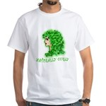 Naturally Curly Irish Hair White T-Shirt