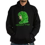 Naturally Curly Irish Hair Hoodie (dark)