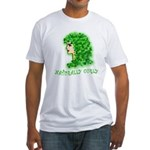Naturally Curly Irish Hair Fitted T-Shirt