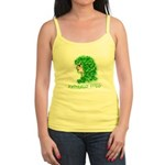 Naturally Curly Irish Hair Jr. Spaghetti Tank
