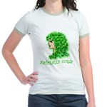 Naturally Curly Irish Hair Jr. Ringer T-Shirt