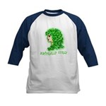 Naturally Curly Irish Hair Kids Baseball Jersey