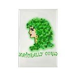 Naturally Curly Irish Hair Rectangle Magnet (10 pa