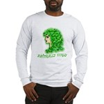 Naturally Curly Irish Hair Long Sleeve T-Shirt