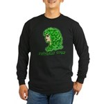 Naturally Curly Irish Hair Long Sleeve Dark T-Shir