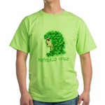 Naturally Curly Irish Hair Green T-Shirt