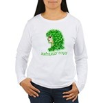 Naturally Curly Irish Hair Women's Long Sleeve T-S