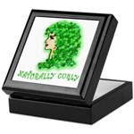 Naturally Curly Irish Hair Keepsake Box