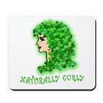 Naturally Curly Irish Hair Mousepad