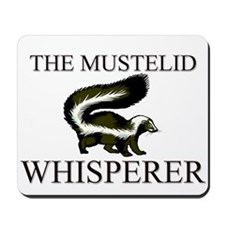 The Mustelid Whisperer Mousepad