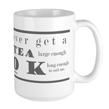 You can never get..tea..book  Mug