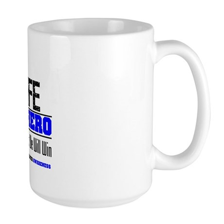 ColonCancerHero Wife Large Mug