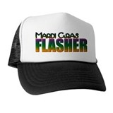 Mardi Gras Flasher Trucker Hat