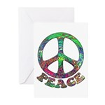 Swirling Peace Greeting Cards (Pk of 10)