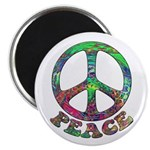 Swirling Peace Magnet