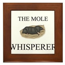 The Mole Whisperer Framed Tile