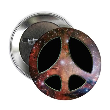 "Galactic Peace Symbol 2.25"" Button (10 pack)"