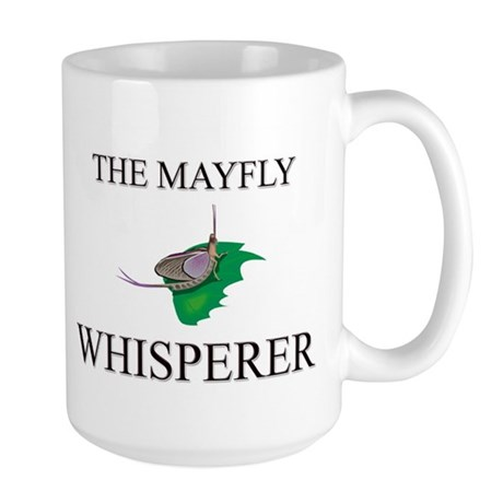 The Mayfly Whisperer Large Mug